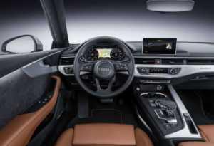 Интерьер купе Ауди А5