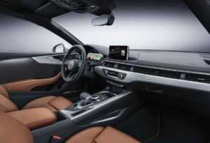 Интерьер Audi A5 Coupe