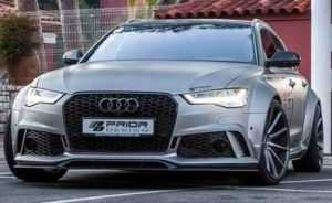 Обвес Audi A6