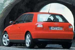 3-дв. хэтчбек Audi A3, 1 поколение, рестайлинг