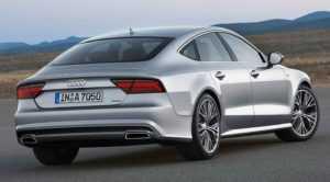 Audi A7 Sportback рестайлинг