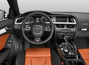 Салон Audi S5 8T