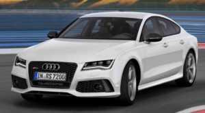 Audi RS7 до рестайлинга