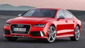 Audi RS7 после рестайлинга