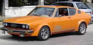 Ауди 100 Coupe S