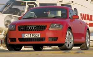 Audi TT Coupe 8N