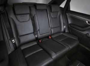 Задний ряд сидений Audi RS4 B7