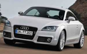 Audi TT Coupe 8J рестайлинг