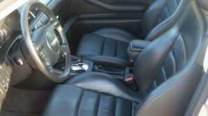 Кожаные сидения с боковой поддержкой универсала Avant A6 C5