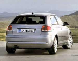 3-дв. хэтчбек Audi A3, 2 поколение, 1 рестайлинг