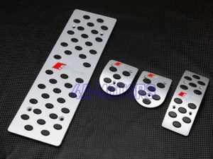 Металлические накладки на педали