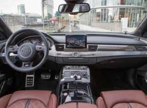 Салон Audi S8 D4