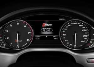 Интерьер Ауди S8 D4