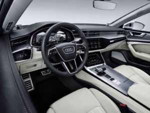 Салон Audi A7 Sportback второе поколение