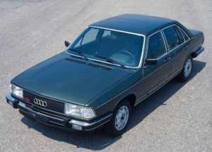 Седан Audi 100 C2 4 дв. рестайлинг