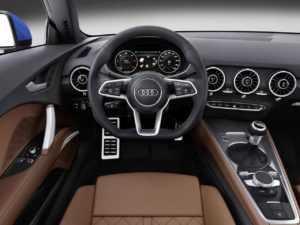 Салон Audi TT 8S