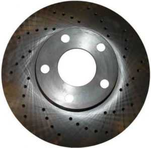 Перфорированный тормозной диск Zimmermann