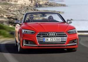 Кабриолет Audi S5 2 поколения