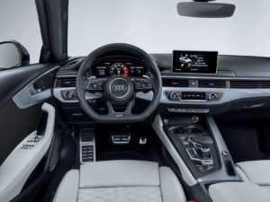Салон Audi RS4 B9