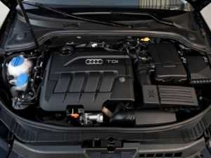 Дизельный двигатель Audi A3 8P