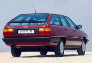 Универсал Audi 100 C3 Avant рестайлинг