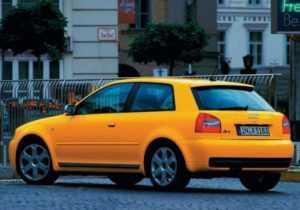 Audi S3 1 поколение, рестайлинг