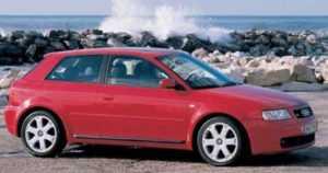 Audi S3 1 поколение