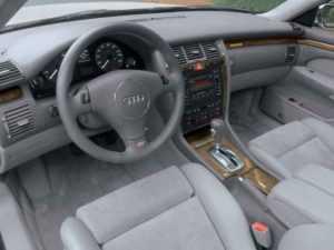Салон Audi S8 D2