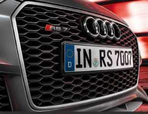 Решётка радиатора Audi RS7