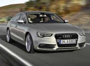 Audi A5 Sportback рестайлинг