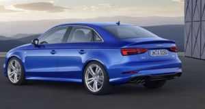 Седан Audi A3, 3 поколение, рестайлинг