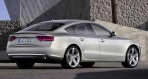 Ауди A5 Sportback рестайлинг