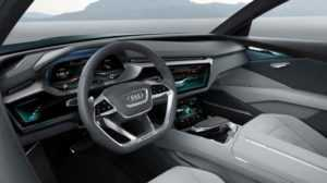 Салон Audi Q6 e-tron Quattro