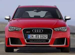 Внешний вид Audi RS3 2 поколение