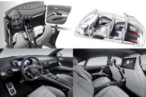 Салон будущего Audi Q4 может существенно измениться