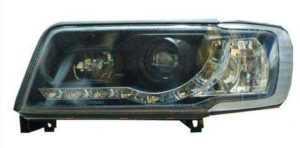 Передняя оптика на Audi 100