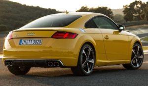 Внешний вид купе Audi TTS Type 8S