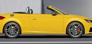 Внешний вид родстера вид Audi TTS Type 8S