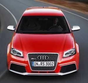 Внешний вид Audi RS3, 1 поколение