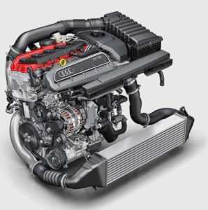Схематично двигатель Ауди РС3