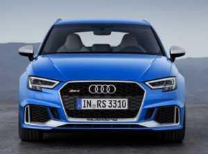 Внешний вид Audi RS3 Sportback, 2 поколение, рестайлинг