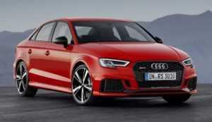Внешний вид седана Audi RS3, 2 поколение, рестайлинг