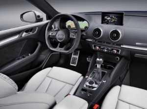 Интерьер Ауди RS3