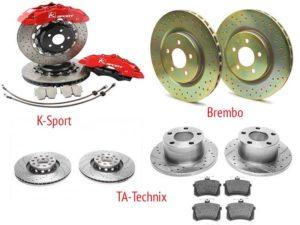 Вентилируемые диски для тюнинга Audi A6 C4