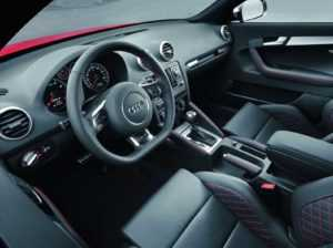 Интерьер Audi RS3