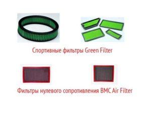 Спортивные воздушные фильтры для тюнинга Ауди 80