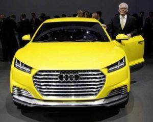 Прообраз будущего Audi Q4