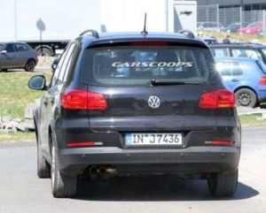 Фотошпионы подловили тест Ауди Q1 в кузове Тигуан