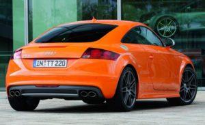 Купе Audi TTS 8J рестайлинг