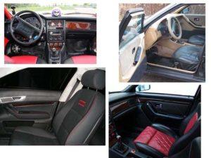 Тюнинг салона Audi 80 B3
